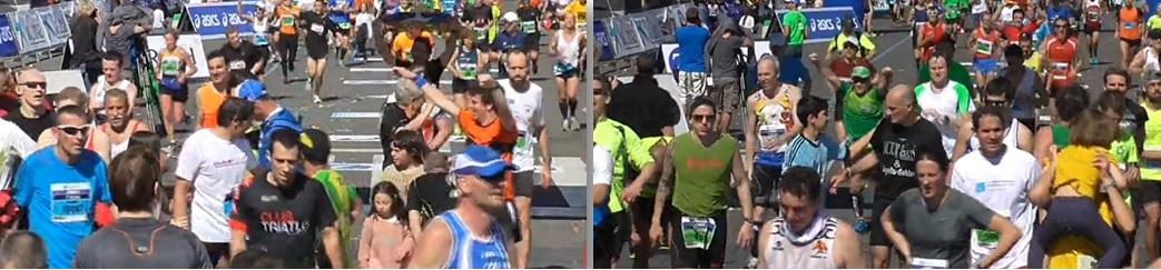 Un petit message de Yann, mon garçon au retour du Marathon de Barcelone dans Les Mousquetaires MarathonBarcelonne2014KarineEtYann